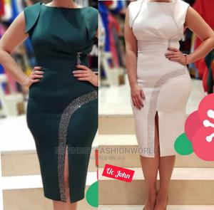 Elegant Classic Trendy Female Quality Fitted Gown   Clothing for sale in Lagos State, Ikeja