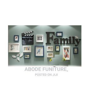 12 Pcs Family Wall Art Photo Frame Collage (As Seen)   Home Accessories for sale in Lagos State, Magodo
