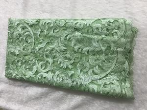 Green Net Lace With Pearls   Clothing for sale in Lagos State, Ajah