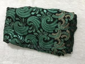 Green and Gold Net Lace   Clothing for sale in Lagos State, Ajah
