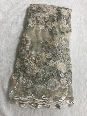 Champagne Sequins Net Lace   Clothing for sale in Lagos State, Ajah