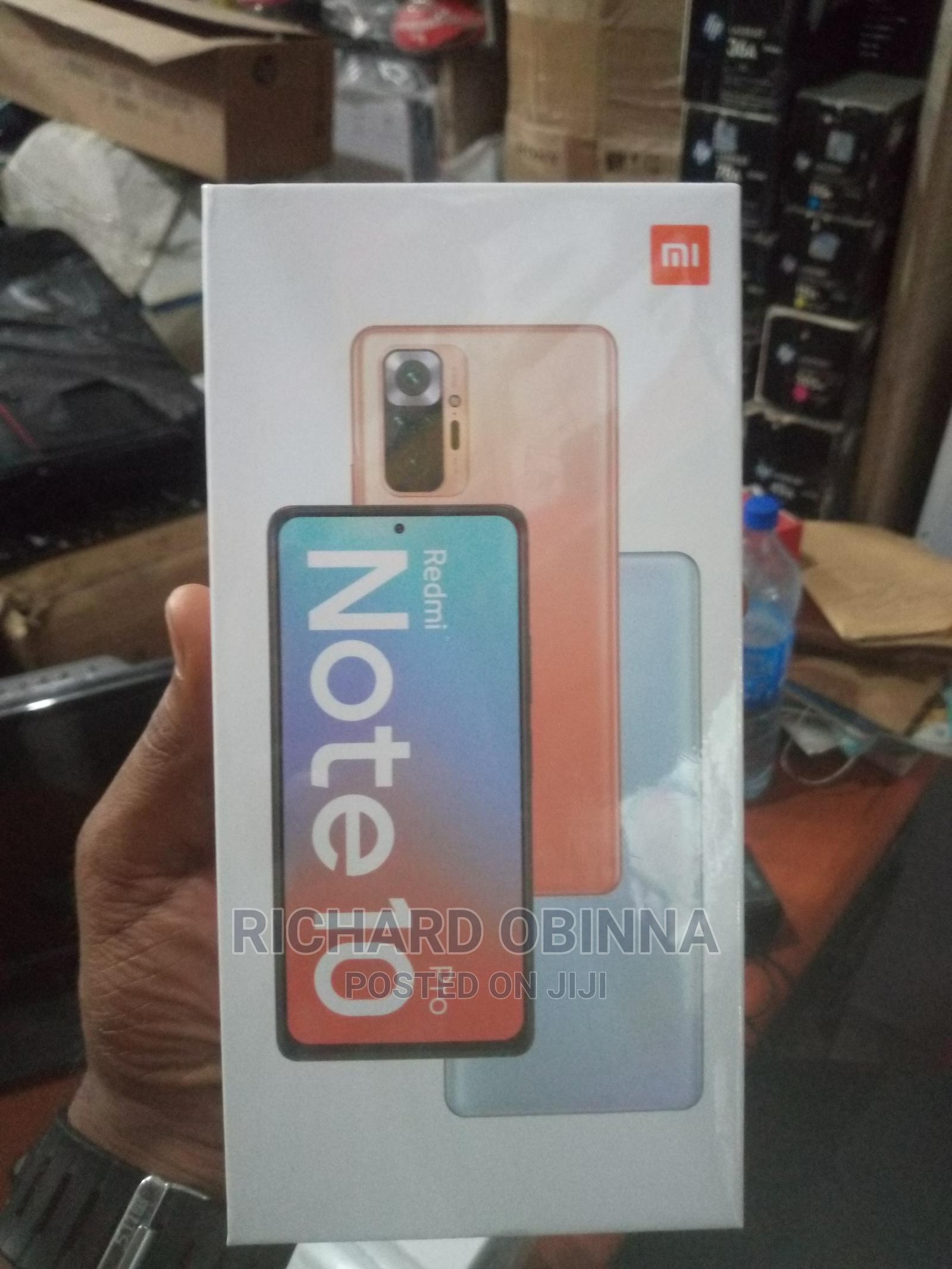 New Xiaomi Redmi Note 10 Pro Max 128 GB Gray