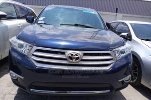 Toyota Highlander 2013 Hybrid Limited Blue   Cars for sale in Lagos State, Lekki