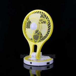 Portable Rechargeable Fan With Led Light | Home Appliances for sale in Lagos State, Lagos Island (Eko)
