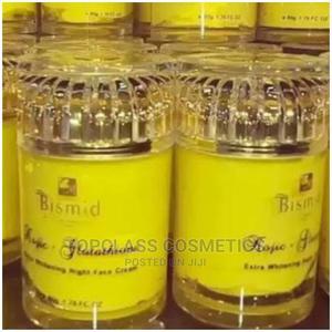 Bismid Kojic + Glutathione Extra Whitening Night Face Cream | Skin Care for sale in Lagos State, Amuwo-Odofin