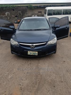 Honda Civic 2006 1.8i-Vtec VXi Automatic Blue   Cars for sale in Lagos State, Ogba
