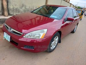 Honda Accord 2007 2.4 Exec Red   Cars for sale in Lagos State, Ojodu