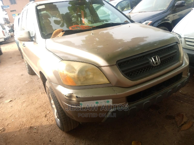 Honda Pilot 2005 Gold   Cars for sale in Agege, Lagos State, Nigeria