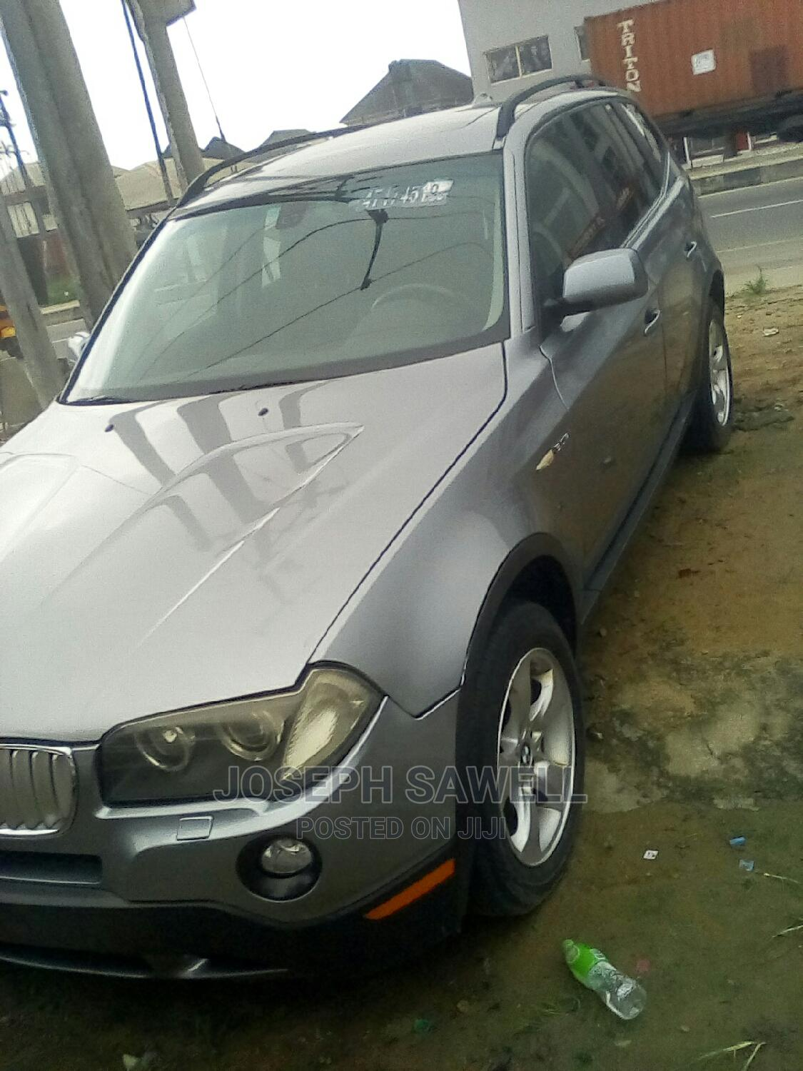 BMW X3 2009 Silver   Cars for sale in Port-Harcourt, Rivers State, Nigeria