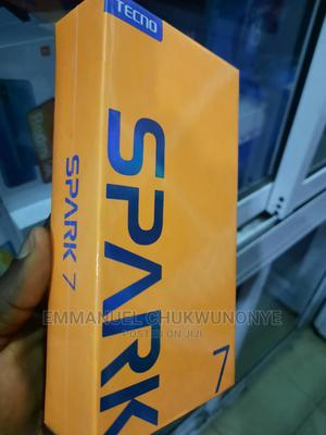 New Tecno Spark 7 64 GB Blue | Mobile Phones for sale in Lagos State, Ikeja