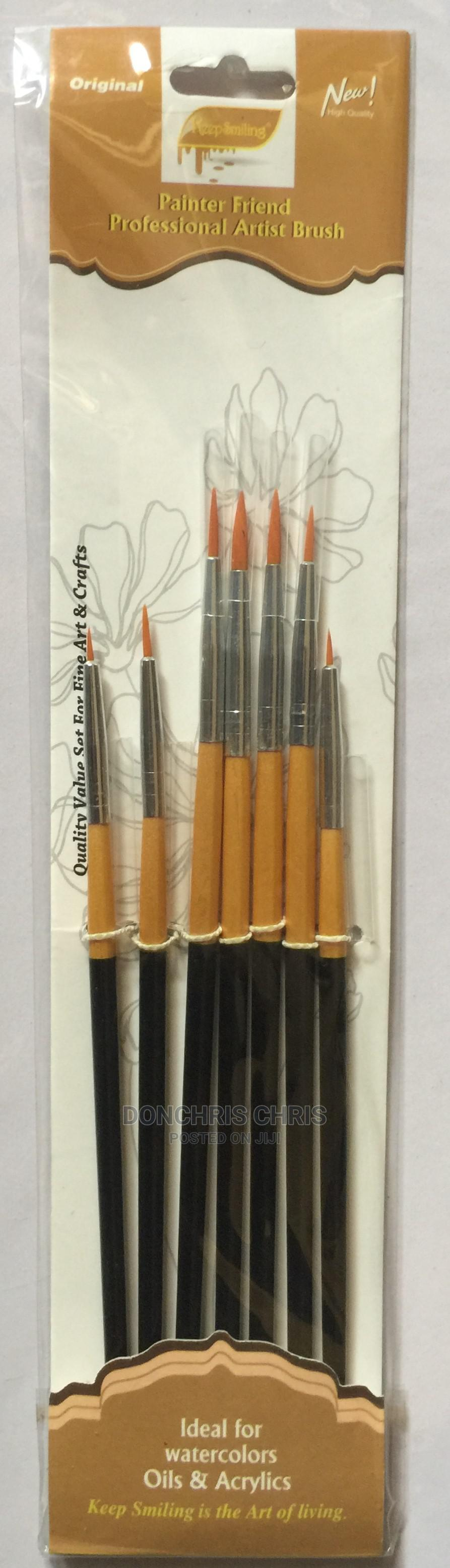 Archive: Brush Set of 7 Pointed Brushes