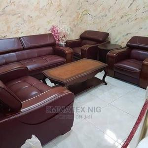 Leather Foreign Executive Chairs Black   Furniture for sale in Lagos State, Ojo
