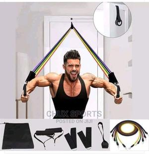 Quality Resistance Bands 5in1 | Sports Equipment for sale in Lagos State, Ogba
