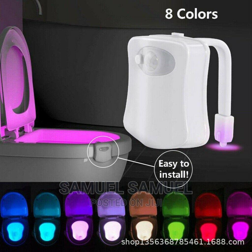 8 Colors Motion Sensor Led Light