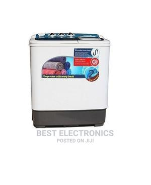 Scanfrost Double Tub Semi Automatic Washing Machine   Home Appliances for sale in Abuja (FCT) State, Central Business District