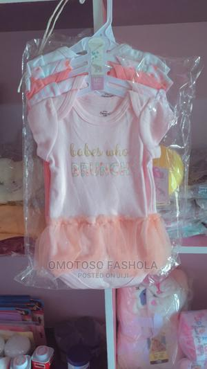 5 Piece Baby Girl Body Suit | Children's Clothing for sale in Ekiti State, Ado Ekiti
