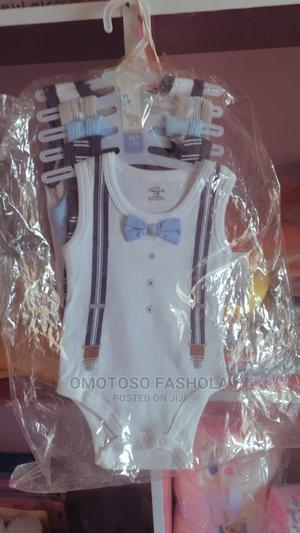 5 Piece Sleeveless Baby Body Body Suit | Children's Clothing for sale in Ekiti State, Ado Ekiti