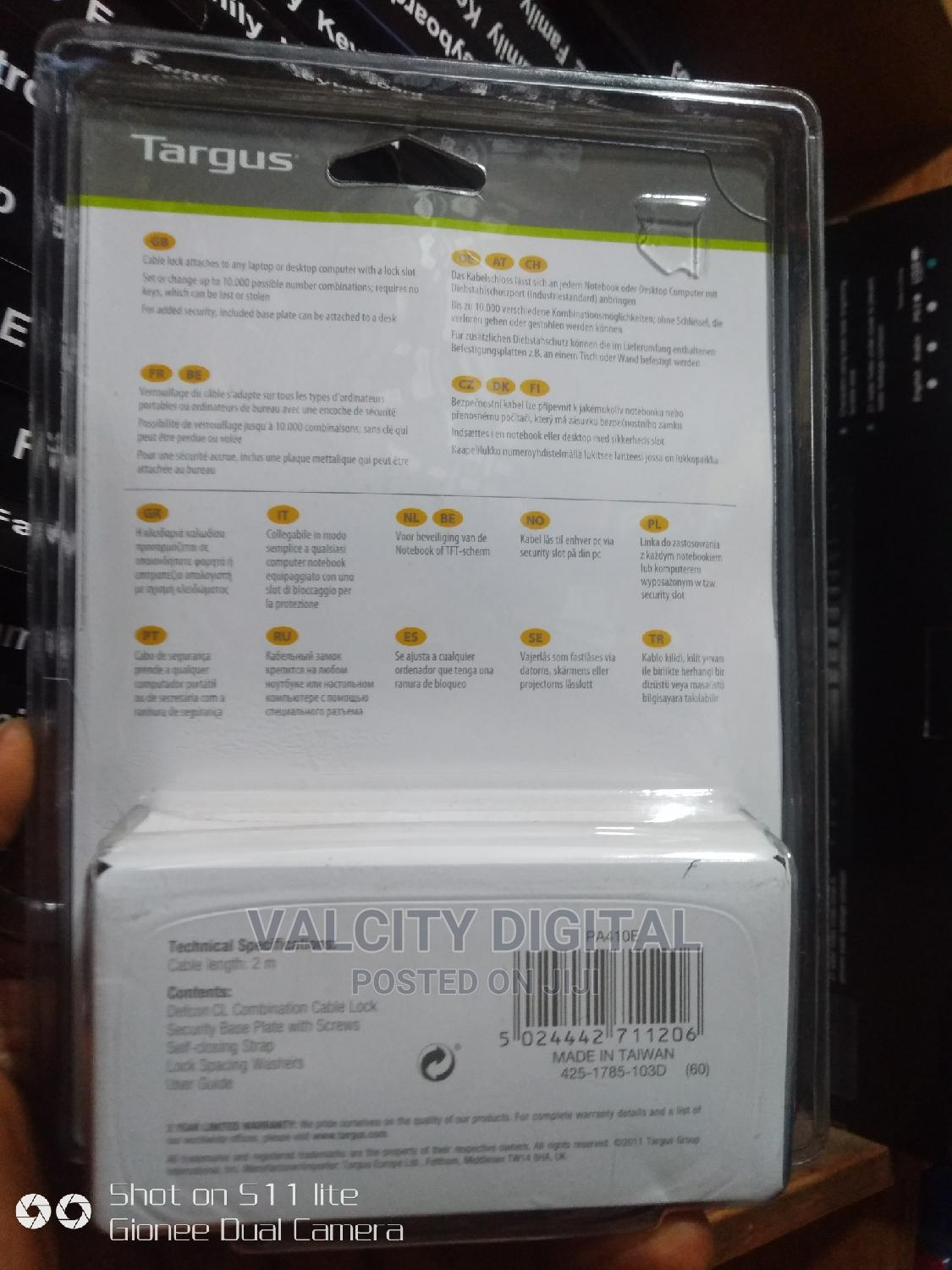 Laptop Cable Lock | Computer Accessories  for sale in Ikeja, Lagos State, Nigeria
