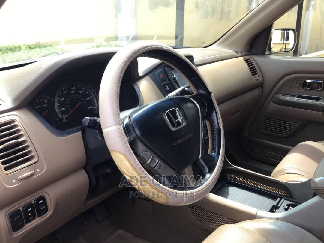 Honda Pilot 2006 EX 4x4 (3.5L 6cyl 5A) Gold   Cars for sale in Ibadan, Oyo State, Nigeria