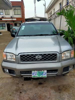 Nissan Pathfinder 2003 SE AWD SUV (3.5L 6cyl 4A) Gray | Cars for sale in Lagos State, Ifako-Ijaiye