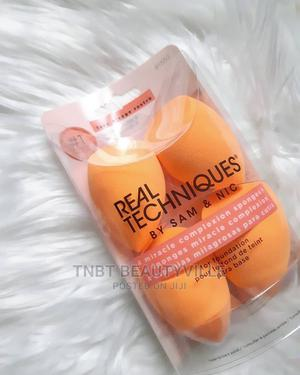 Authentic Real Techniques Complexion Sponge - Set Of 4   Makeup for sale in Lagos State, Lekki