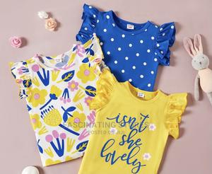 Girls Cute Top 3 Pack Kids Clothing Kids Wears | Children's Clothing for sale in Abuja (FCT) State, Jabi