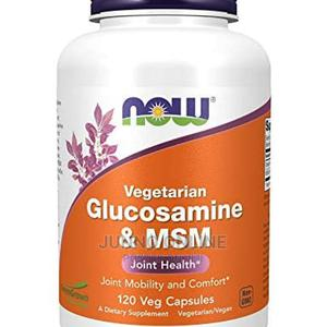 Now Vegetarian Glucosamine Msm Joints Health 120 Capsules   Vitamins & Supplements for sale in Lagos State, Ikoyi