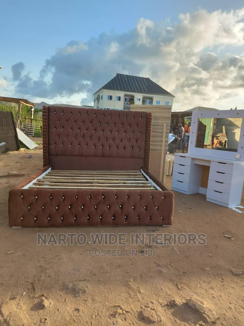 6by6 Padded Bedframe