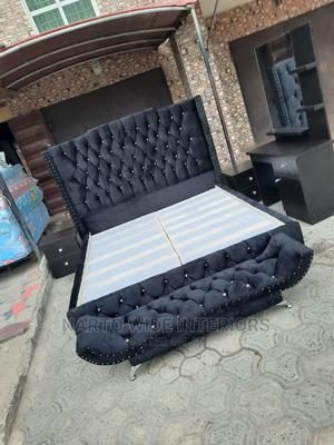 6by6 Padded Bedframe | Furniture for sale in Lagos State, Ojo