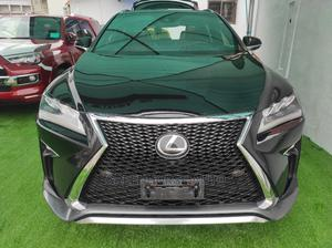 Lexus RX 2017 350 F Sport FWD Black   Cars for sale in Lagos State, Ikeja