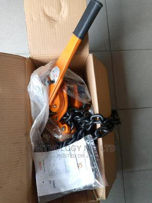 6ton X 3m Toyo Comealong/ Lever Hoist | Manufacturing Equipment for sale in Rivers State, Port-Harcourt