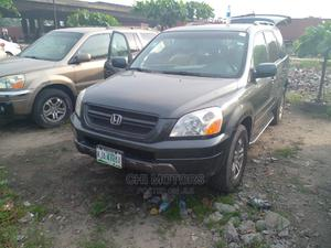 Honda Pilot 2005 EX-L 4x4 (3.5L 6cyl 5A) Gray | Cars for sale in Lagos State, Apapa