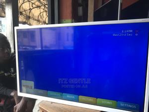 "32"" Sharp White Full Smart Tv With Mirrocast, Netflix   TV & DVD Equipment for sale in Lagos State, Ojo"