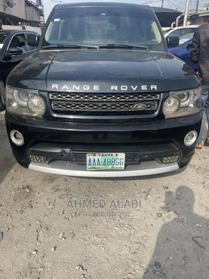 Land Rover Range Rover Sport 2009 Black | Cars for sale in Lagos State, Surulere