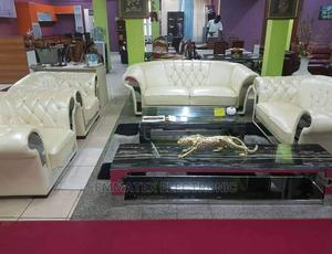 Foreign Imported Leather Sofa Chairs | Furniture for sale in Lagos State, Ojo
