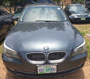BMW 525i 2008 Gray | Cars for sale in Abuja (FCT) State, Central Business District