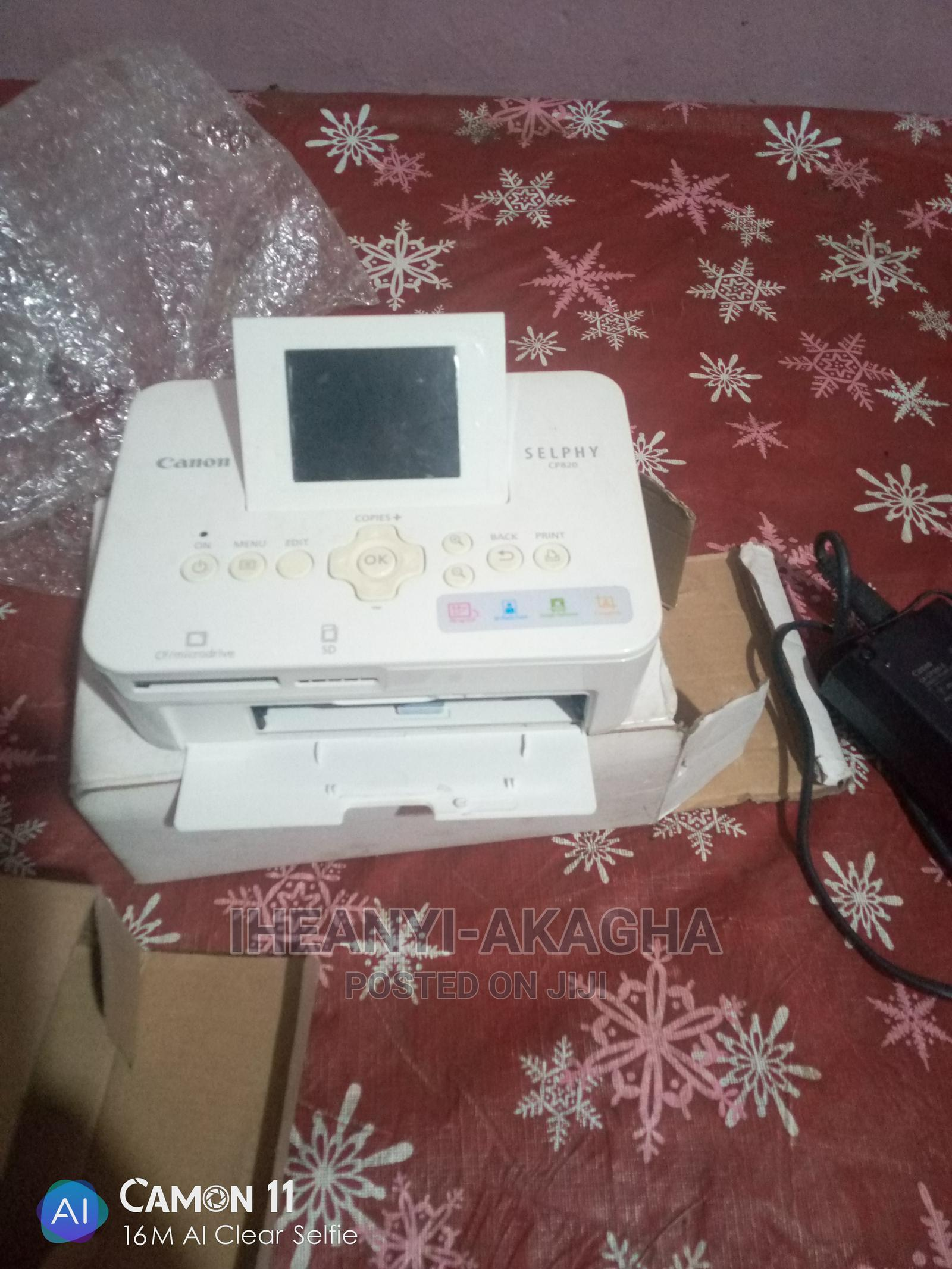 Archive: Canon Selphy CP820 PRINTER