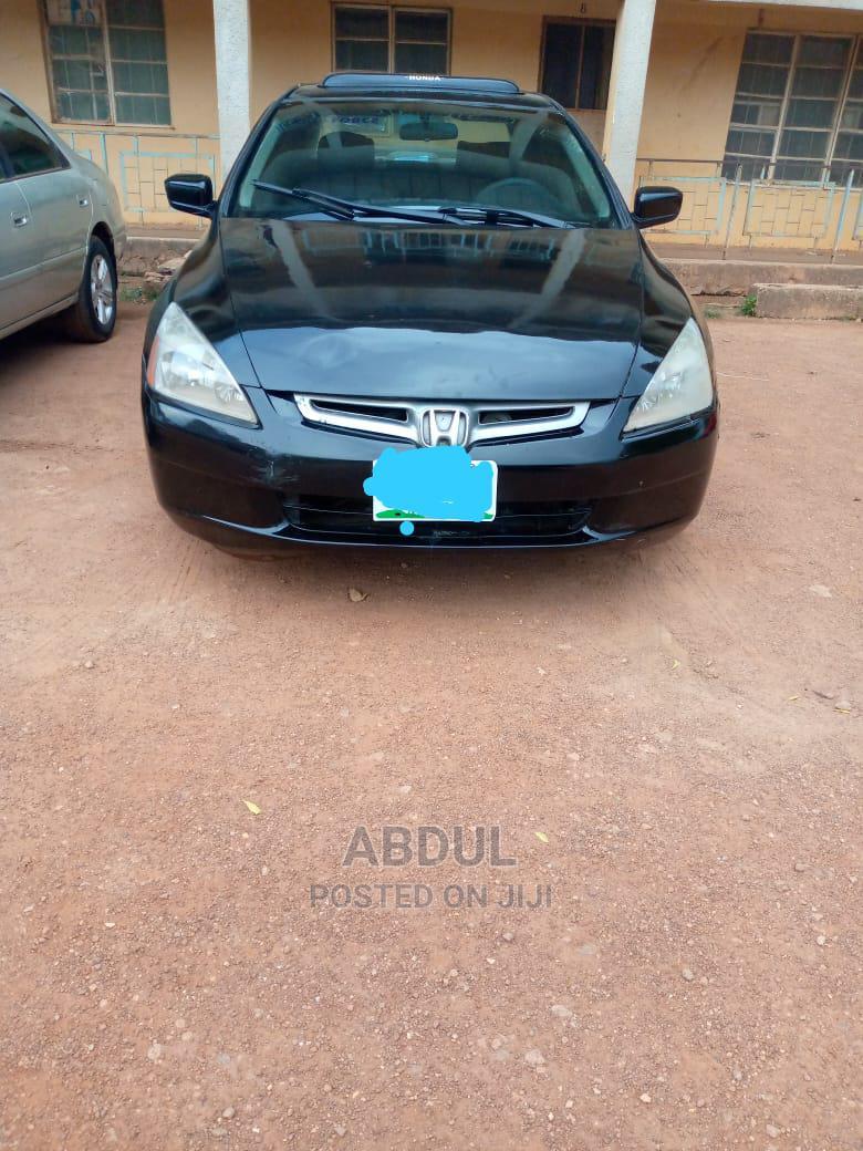 Archive: Honda Accord 2003 2.4 Automatic Black