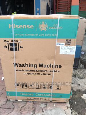 Hisense 10kg Wash 7kg DRYER Inverter Motor Smart Control   Home Appliances for sale in Lagos State, Ikeja