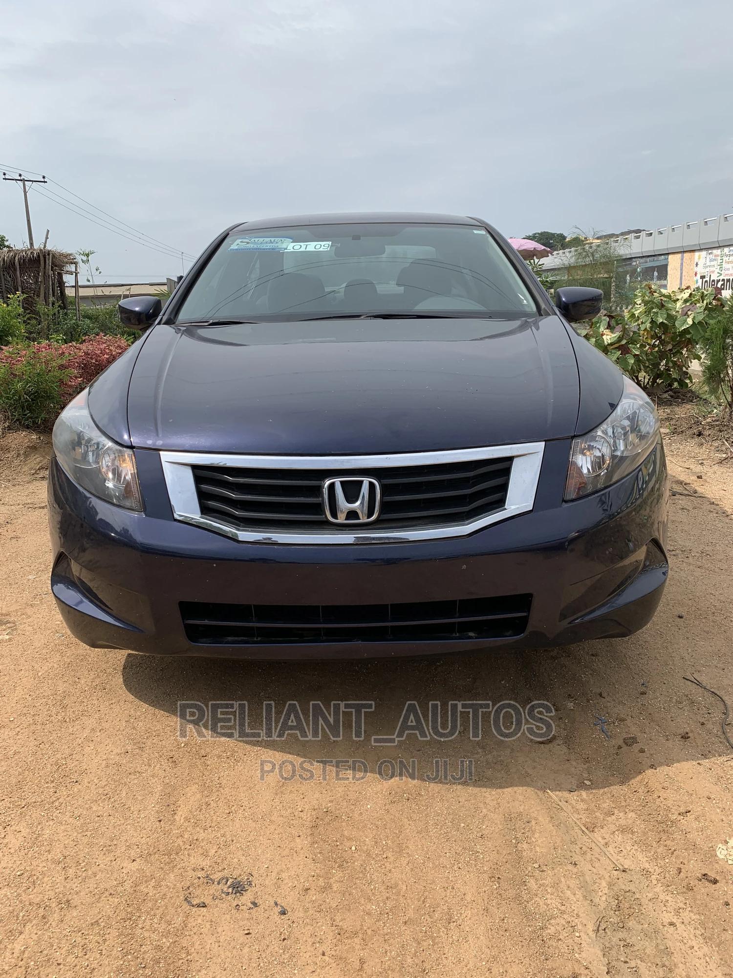 Archive: Honda Accord 2009 LX 2.4 Automatic Blue