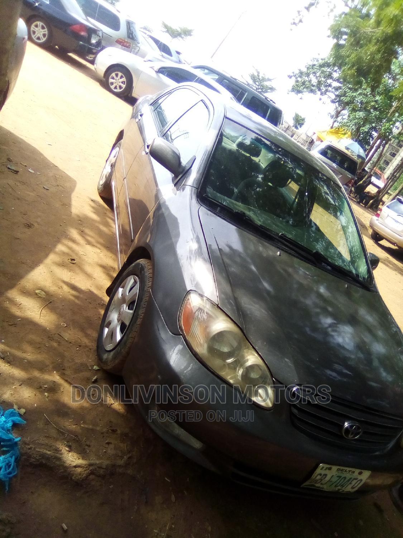 Archive: Toyota Corolla 2004 Gray