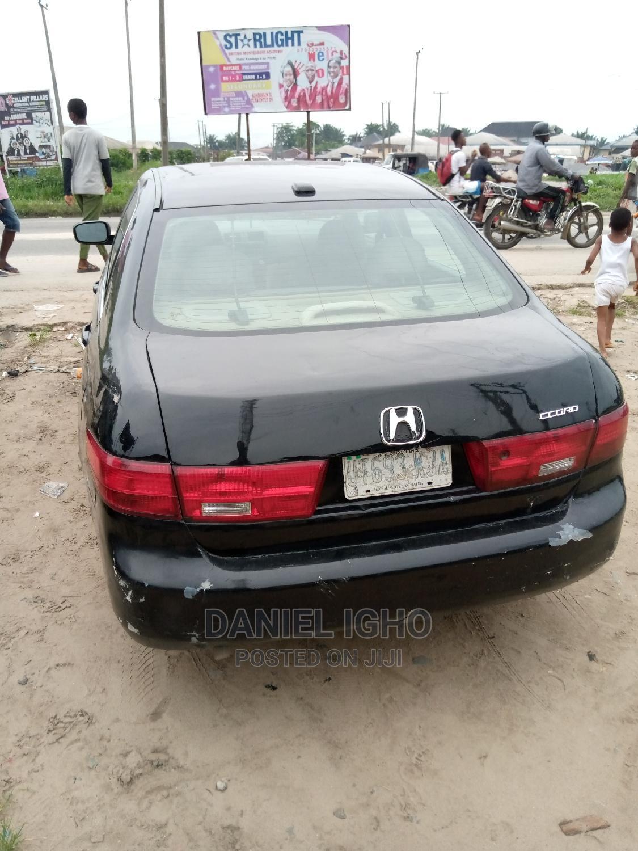 Honda Accord 2003 Automatic Black