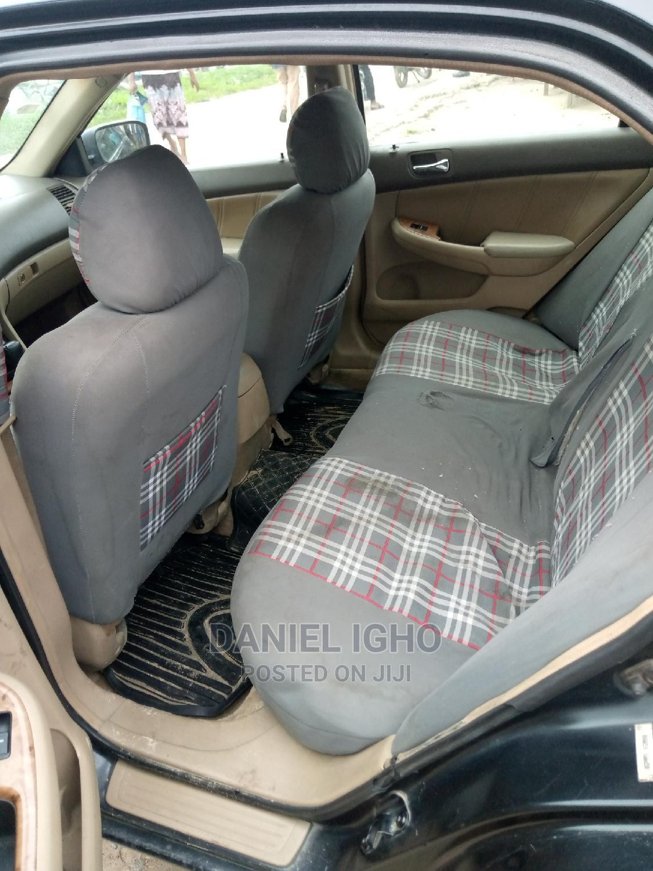 Honda Accord 2003 Automatic Black | Cars for sale in Udu, Delta State, Nigeria