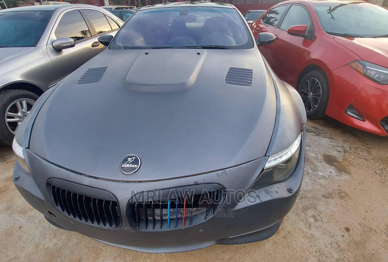 BMW M6 2009 Gray