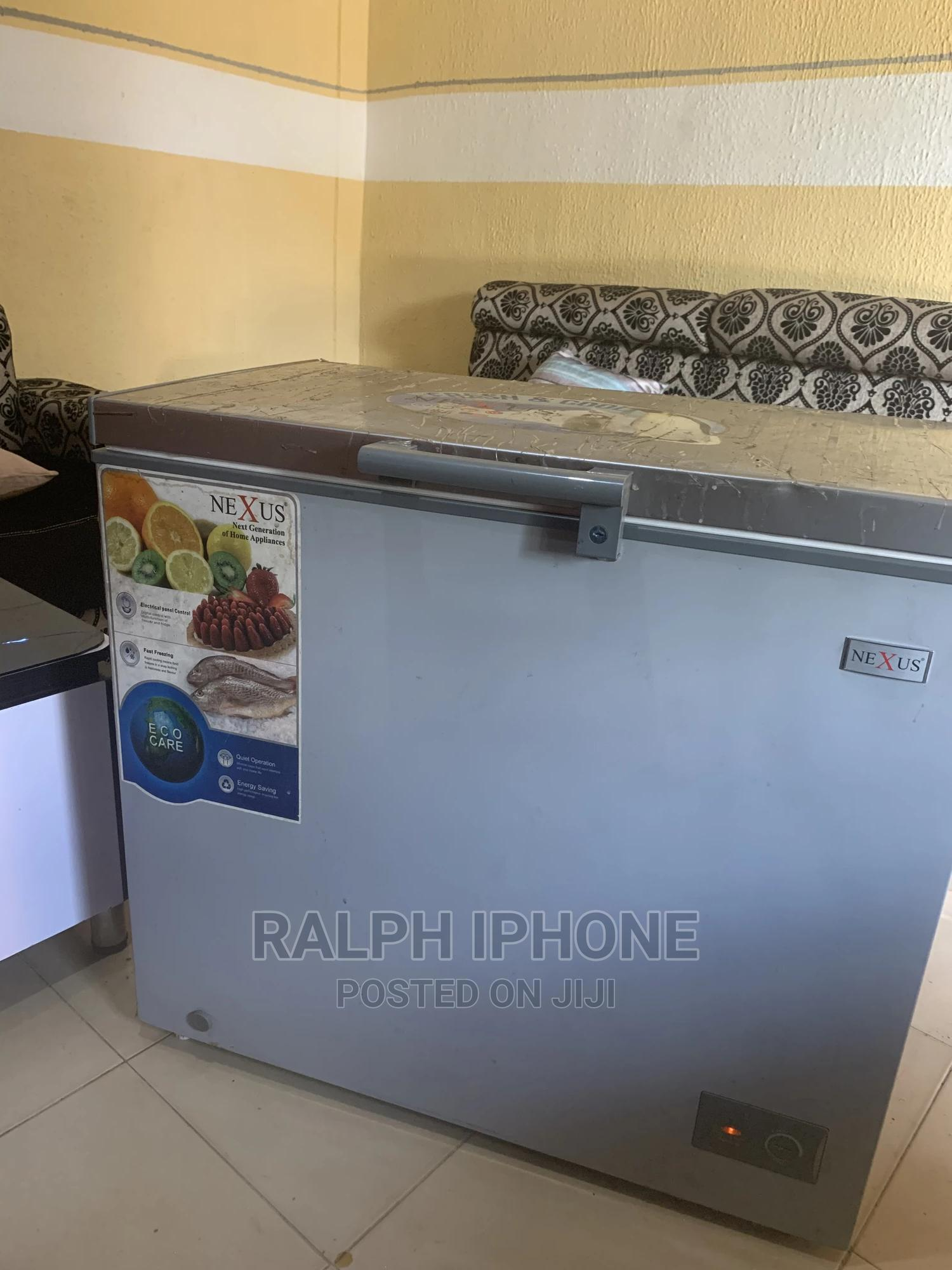 Archive: Nexus Deep Freezer for Sale 210 Liters Barely 6months Old