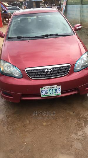 Toyota Corolla 2005 LE Red | Cars for sale in Lagos State, Ojodu