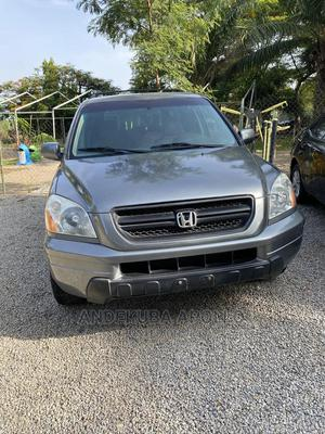 Honda Pilot 2003 LX 4x4 (3.5L 6cyl 5A) Gray | Cars for sale in Abuja (FCT) State, Mbora