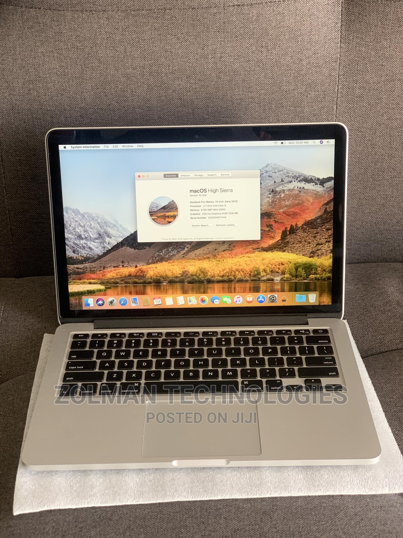 Laptop Apple MacBook 2015 8GB Intel Core I5 SSD 256GB