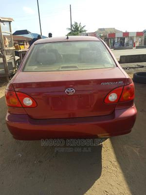 Toyota Corolla 2004 Red   Cars for sale in Lagos State, Ojo