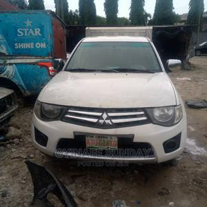 Mitsubishi L200 2015 White | Cars for sale in Rivers State, Port-Harcourt